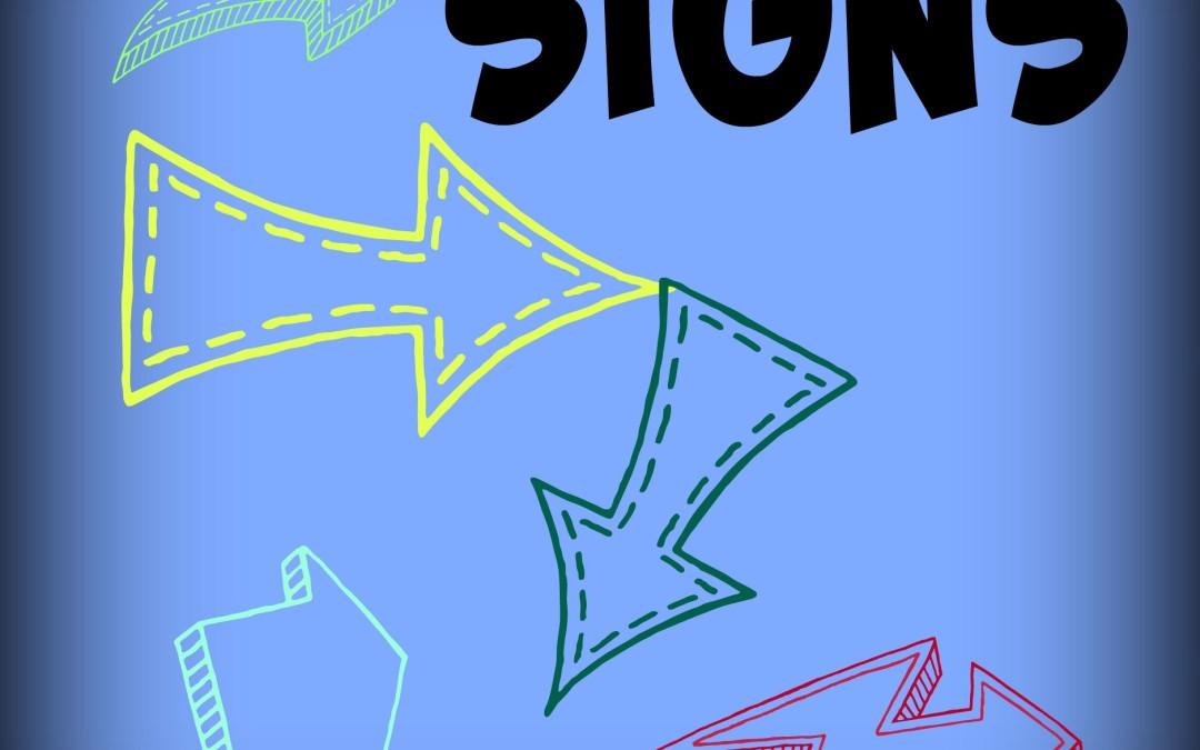 Signage = Confused????